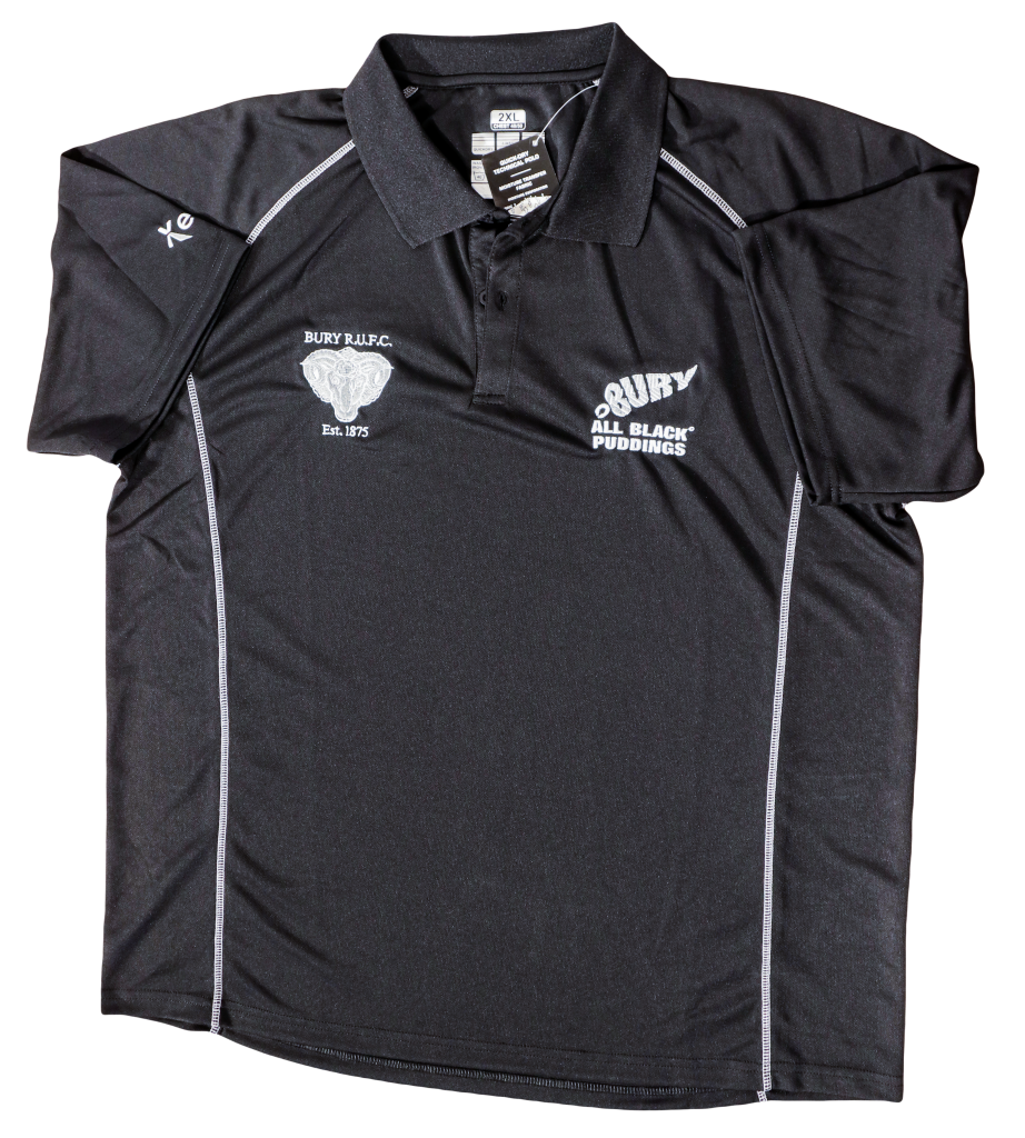 Pro Polo Shirt | Bury Rugby Club | Black Puddings