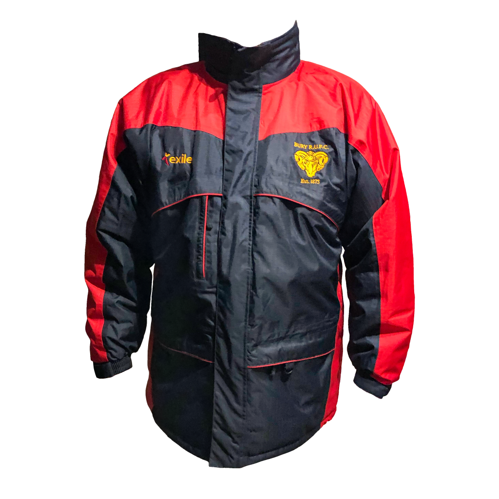 Bury RUFC | Waterproof Coat | Merchandise | Rugby Union