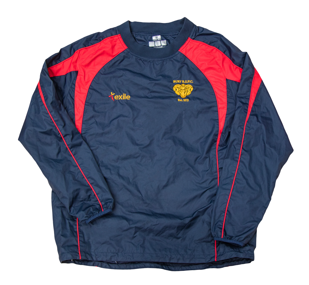 Bury RUFC | Pro Training Top | Merchandise | Rugby Union
