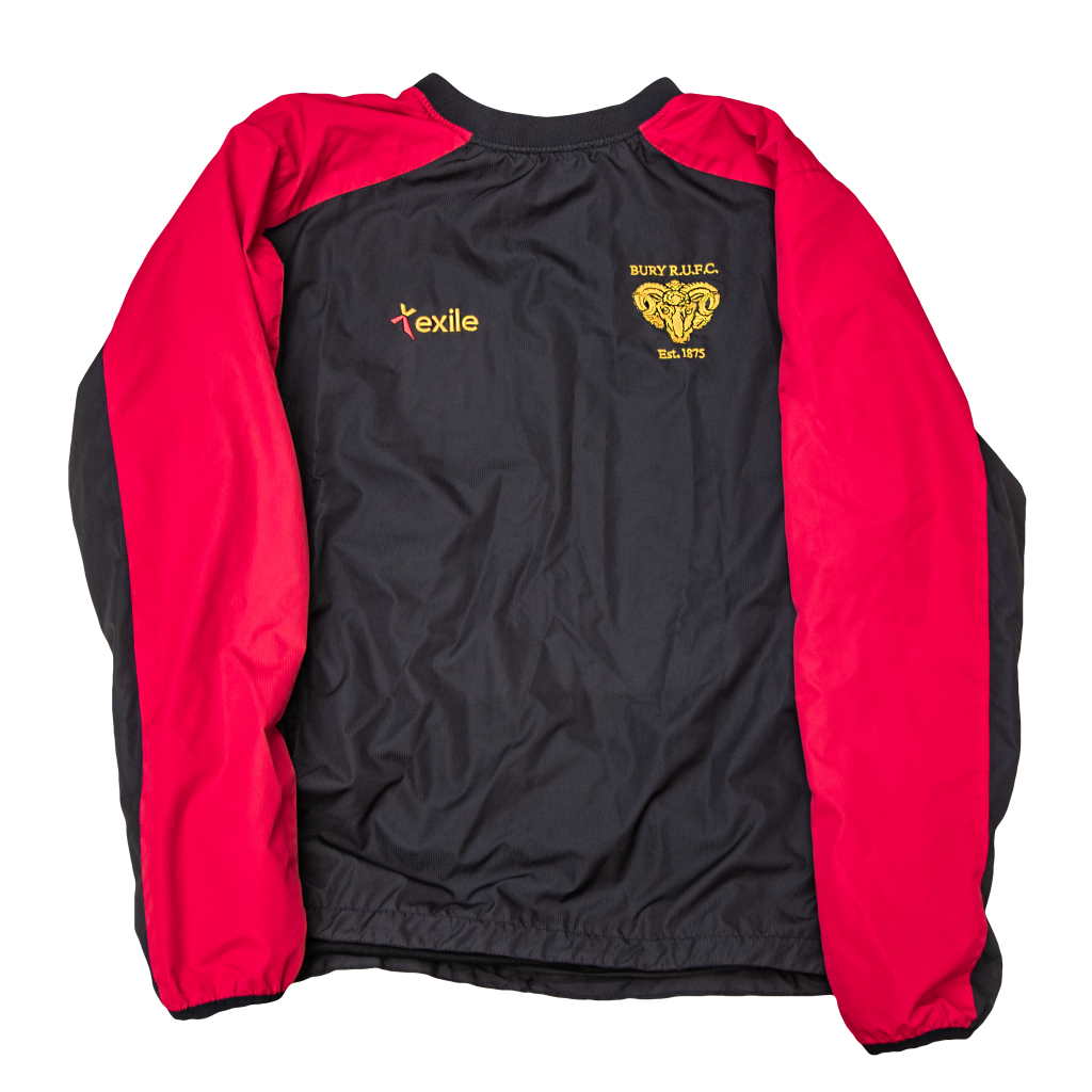 Bury RUFC | showerproof Training Top | Merchandise | Rugby Union
