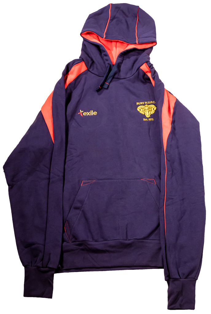 Bury RUFC | Pro Hoodie | Merchandise | Rugby Union