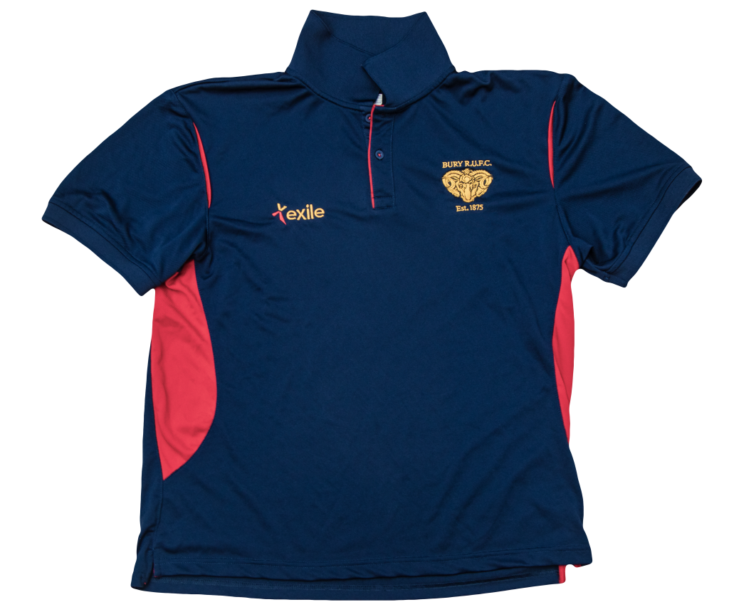 Bury RUFC | Pro Polo | Merchandise | Rugby Union