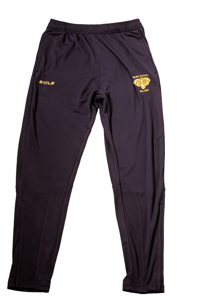 Bury RUFC | Skinny Tracksuit Pants | Rugby Union Merchandise